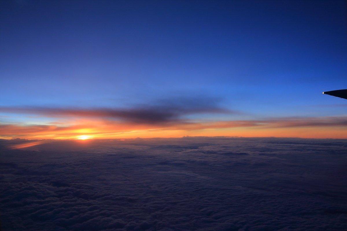 #sky #ana #sunset