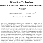 Image for the Tweet beginning: Are mobile phones a Liberation