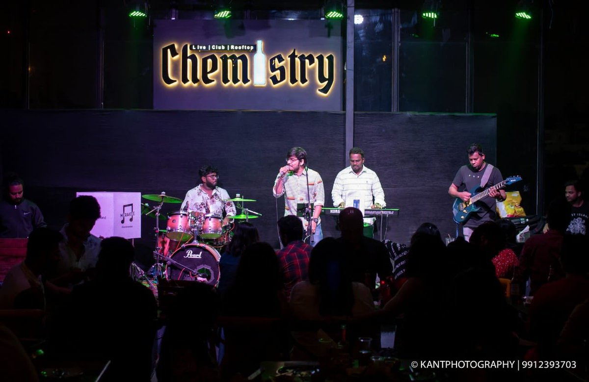 Thursday night at Chemistry, Hyderabad was amazing!!! #THETeluguBand #bandmerakee #merakee #telugusongs #telugusingers #telugumusic #livemusic #hydevents #eventshyd #hyderabadevents #livemusicindiapic.twitter.com/S397HeBqMf