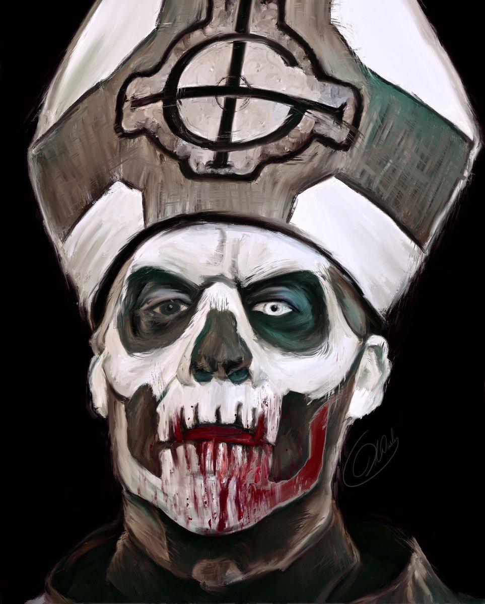 Moar Papa? @GhostBcOfficial #ghost #ghostband #thebandghost #ghostbc #papaemeritus #papaemeritusii #papaemeritus2 #vampypic.twitter.com/fsltOy7dWO