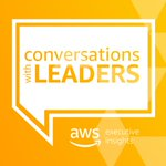 Image for the Tweet beginning: Listen to the AWS Conversations