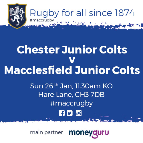 test Twitter Media - Good luck to our colts in their game against Chester tomorrow afternoon! #MaccRugby 🏉 https://t.co/k9sHawdwYR