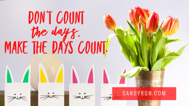 """""""Don't count the days.  Make the days count!""""   Make EVERY day count!  #businessmind #momswithmusclespic.twitter.com/iSOxp94Kek"""