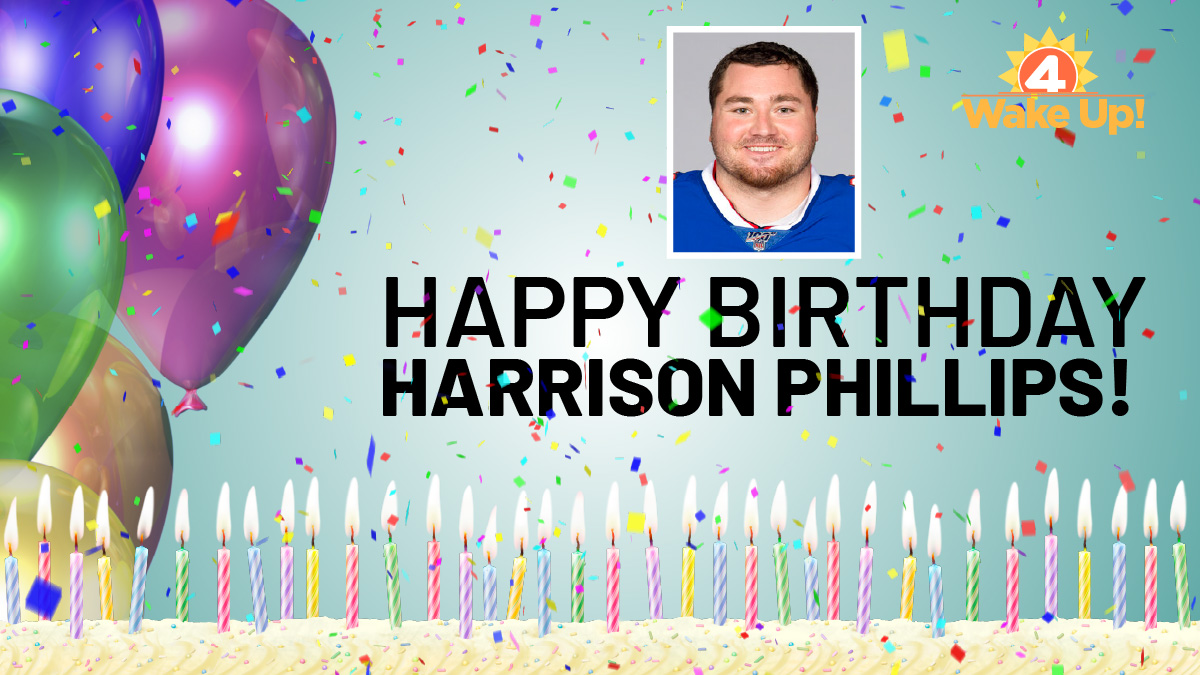 Happy birthday to #Bills defensive lineman Harrison Philips! Hope to see you out there soon @horribleharry99!