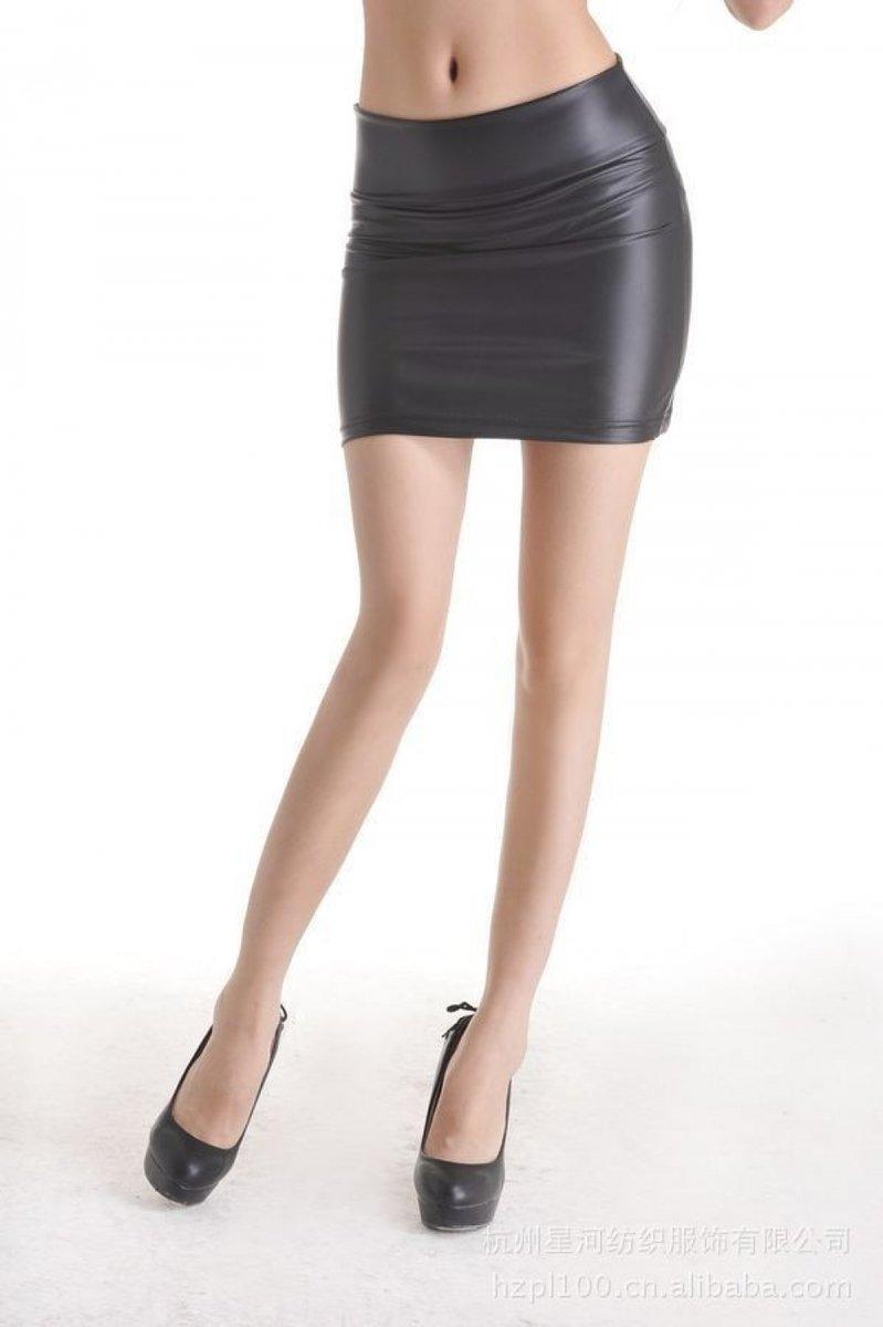 PU leather short skirt women plus size 6xl black faux leather bodycon pencil mini skirt  #fashion|#accessories|#plussize|#extrabeautiful