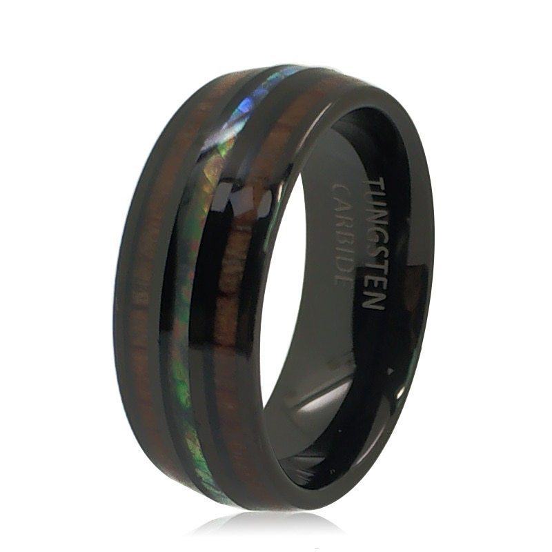 Hi!  coming for you With Abalone Shell Tungsten Steel Ring  Visit the link for more info.....   #Rings #usa #jewelry #fashion #handmade #jewellery #earrings #accessories #handmadejewelry #necklace #gold #style #silver #love