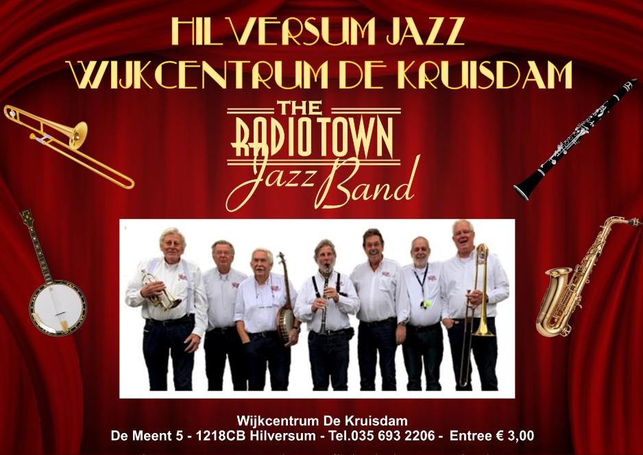 Elke eerste zondag van de maand: The Radio Town Jazzband van 14:30-17:30 in wijkcentrum De Kruisdam, Meent 5, Hilversum. Kom je ook zondag 2 februari? pic.twitter.com/NJcbUbs8F5
