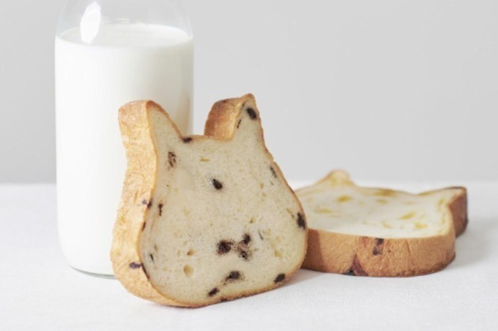 """""""猫型""""高級食パン「ねこねこ食パン」マークイズ福岡ももちに、牛乳だけで仕込んだミルキーな味わい -"""