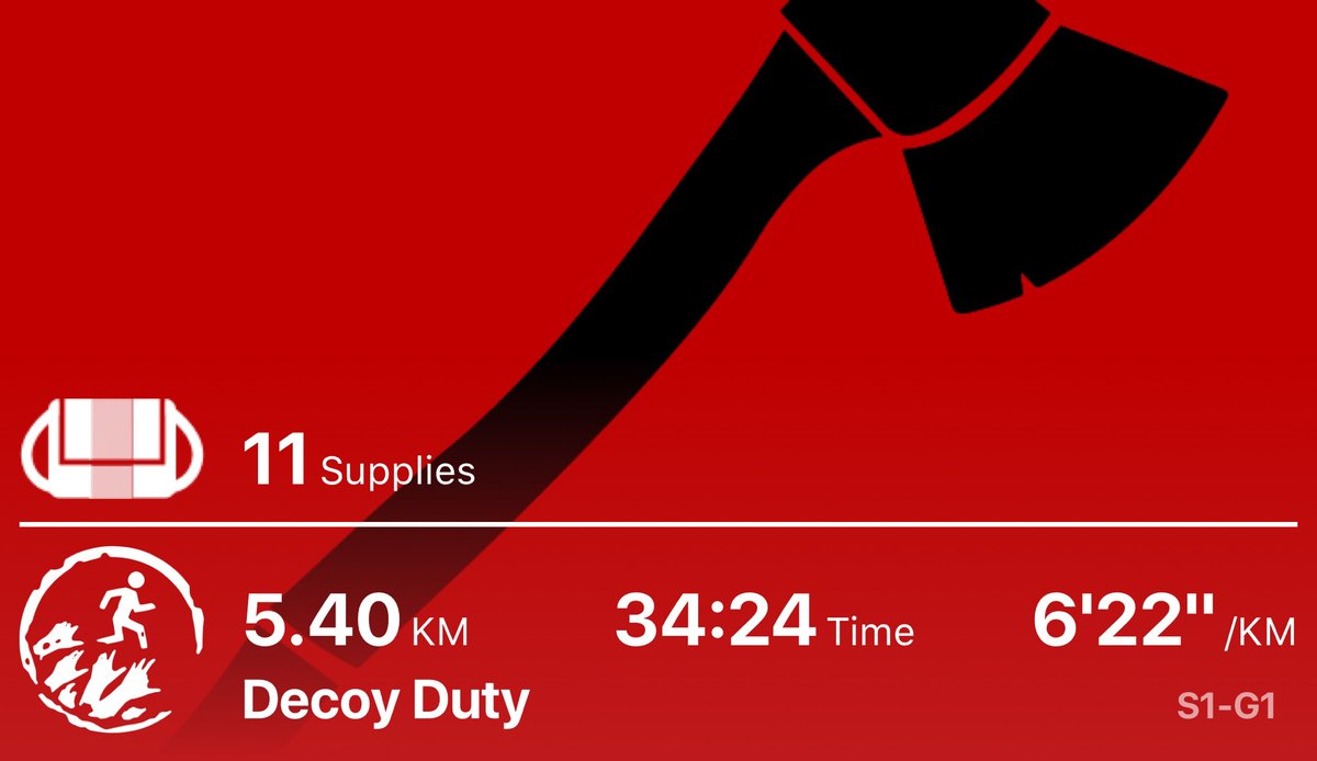 Running to lure away Zombies crowded round the town walls. #zombiesrun #stillnotdeadpic.twitter.com/M9JHHzvEaC