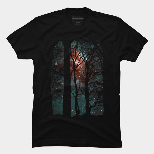 BloodMoon @designbyhumans by @Boby_Berto  #moon #tree #clouds #night #awesome #landscape #sky #bloodmoon #fullmoon #art