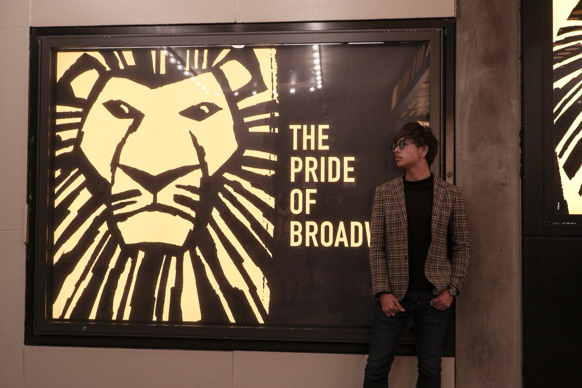 test ツイッターメディア - ライオン・キングを観に #ブロードウェイ にきたぴょーん。ライオンキングの内容と英語が喋れないから全く分からなかったぴょーん。 https://t.co/GPpJcMyAuo