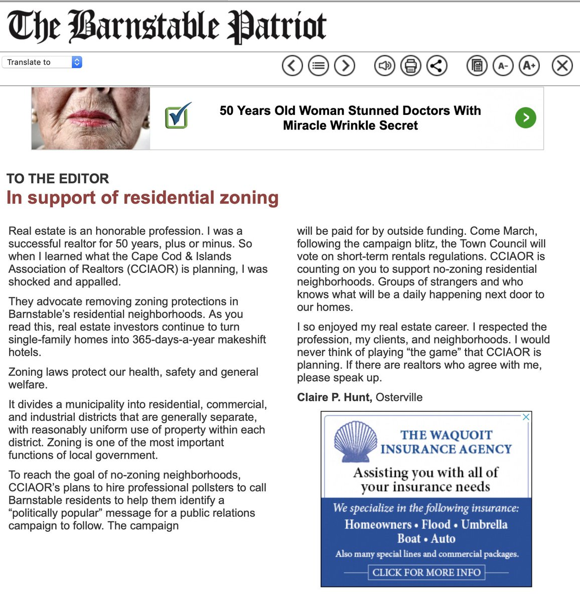 """Some #Realtors think Cape @marealtors pollster & lobby campaign (funded by nat'l org) to oppose STR Zoning laws in #Barnstable is appalling and a """"game"""".  #realtors  who ❤️ our neighborhoods as we do oughta speak up.  @BarnstablePatch"""