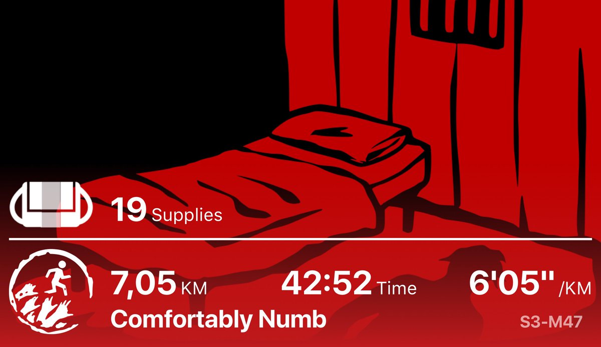 Fought to find the truth in a mental health institution #zombiesrun pic.twitter.com/qWbyeKwFZ7