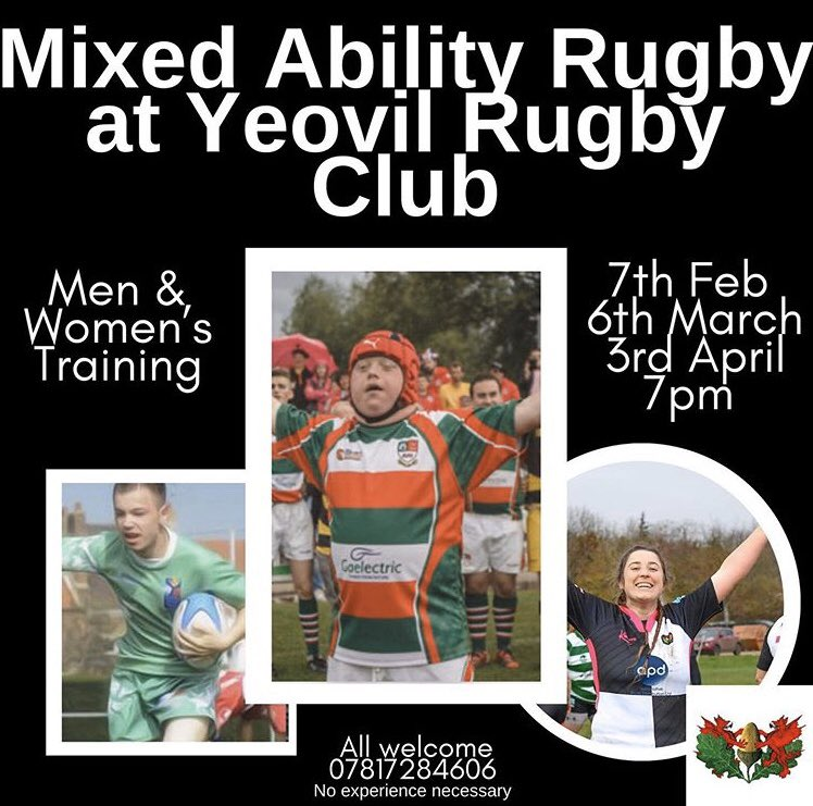 All wellcome, come along and join in the fun @IvelRFC #SportForAll #RugbyFamily