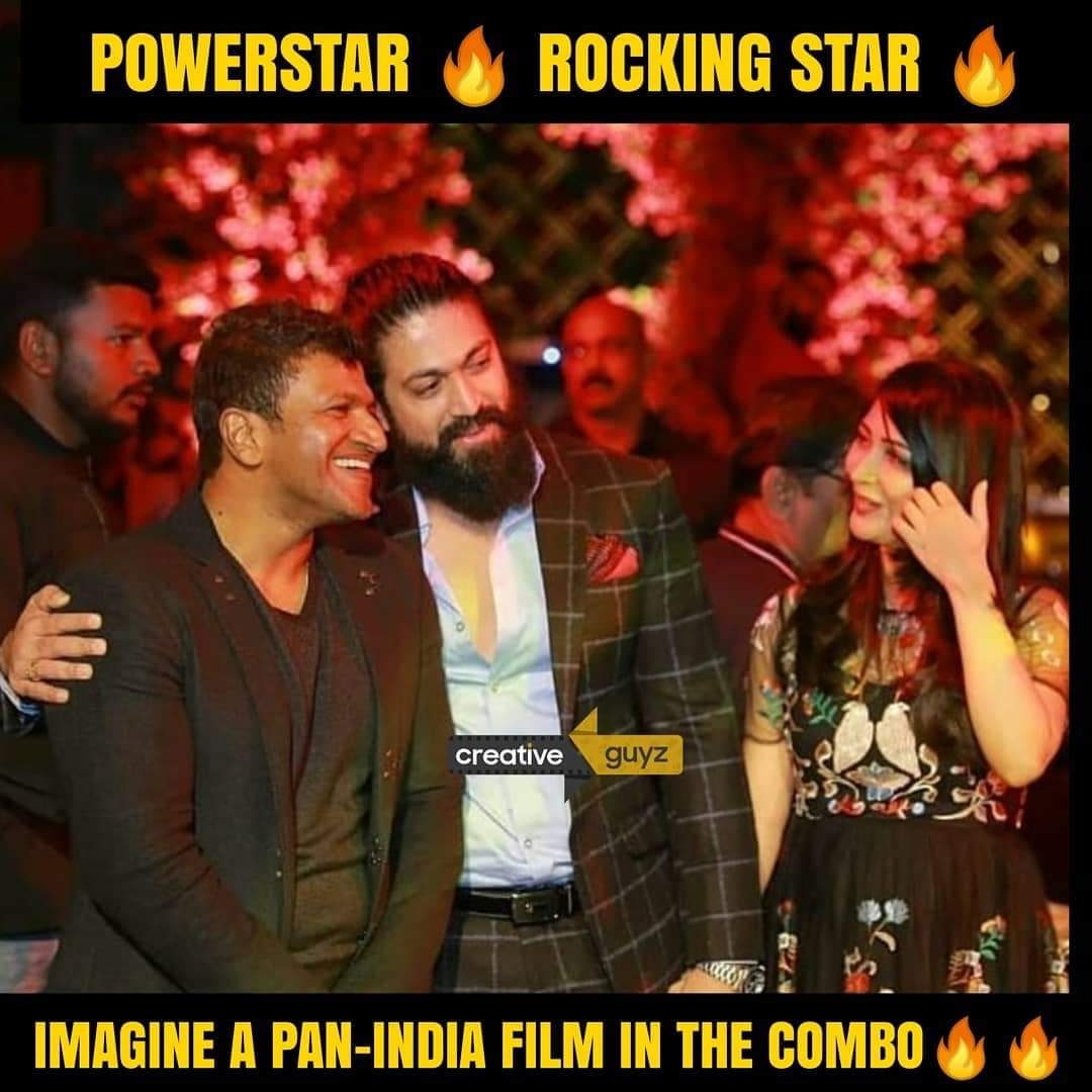 🔥🔥🔥 #Powerstar #PuneethRajkumar #RockingStar #Yash