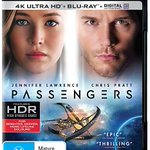 Image for the Tweet beginning: Passengers 4k UHD (digital version)