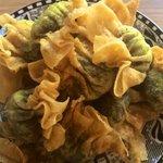Image for the Tweet beginning: 新年快乐  Vegan dumplings, prawn