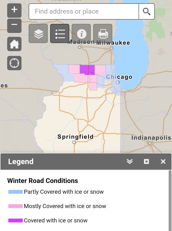 Image posted in Tweet made by IDOT on January 25, 2020, 2:06 pm UTC