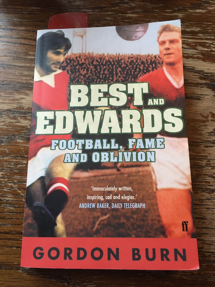 """Gary Wigglesworth on Twitter: """"Book #3 2020 is Best & Edwards by Gordon  Burns from @FaberBooks. Am a third in already - it's fantastic.… """""""