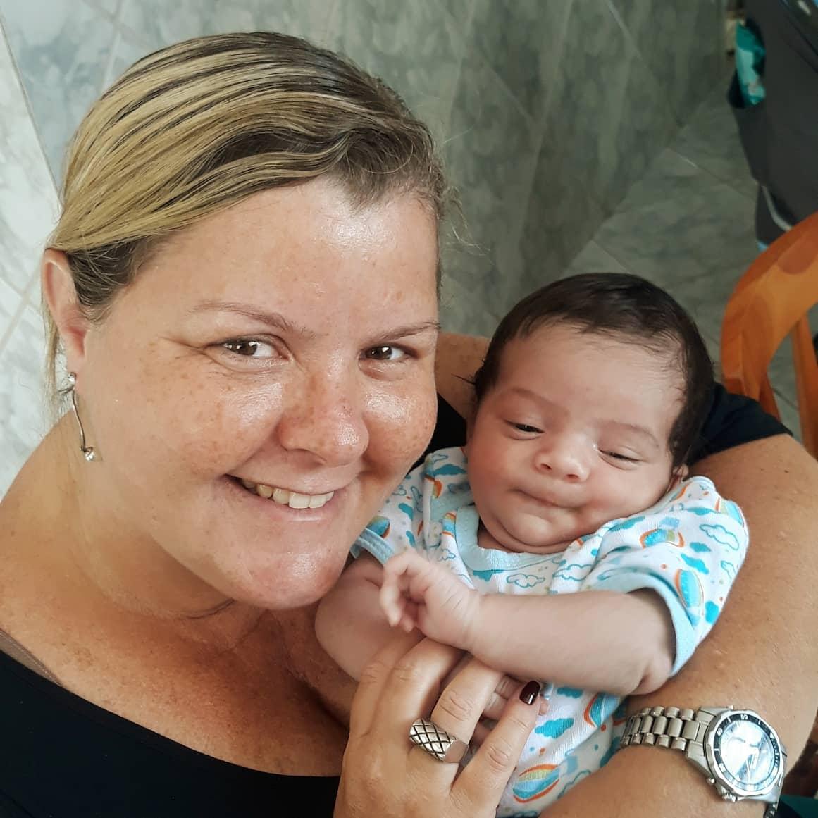 E a família cresce...🥰🥰 #Yago #SobrinhoLindo #TitiaLinda #TitioBabão #Família