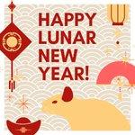 Image for the Tweet beginning: Happy Lunar New Year! Sending