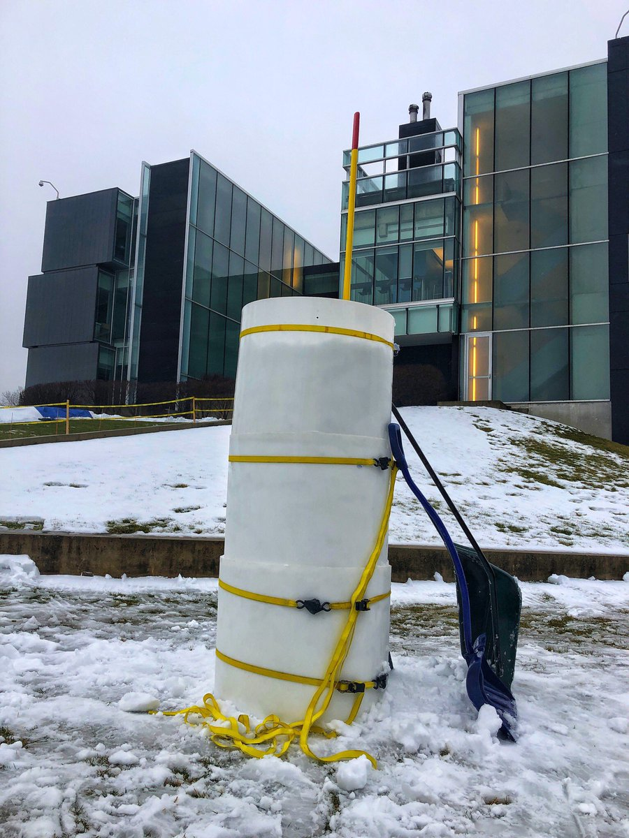 Found some snow @Perimeter and will attempt a carve today. Winterloo is a go for most events. @CreateWaterloo
