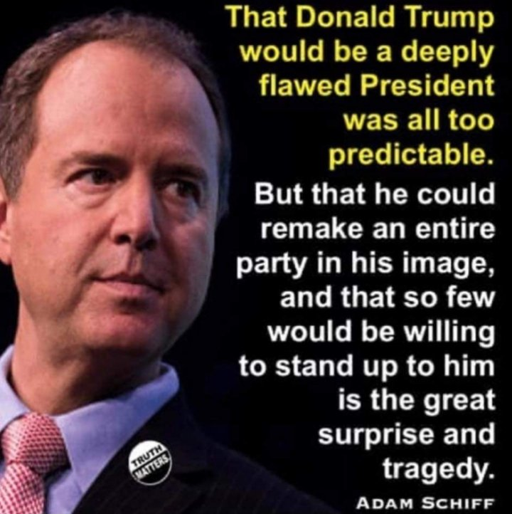 Thank you Adam Schiff. You make us proud !!  #RightMatters #SchiffRocks #Resist #Trump #ImpeachmentTrial #Schiff #1u #tcot #maga #kag @RepAdamSchiff #TruthMatters #SaturdayThoughts #RemoveTrump<br>http://pic.twitter.com/cRYZU2MEug