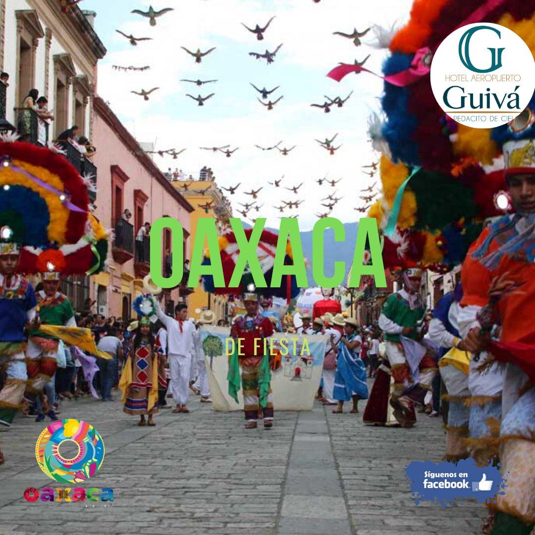 @GuivaHotel  Hotel Guiva Aeropuerto #SemanaSanta Visitanos en tus próximas vacaciones. Contamos con: cafetería, terraza-bar, room service, extensa carta de alimentos, snacks, wi-fi y mucho más... Tel: 5116929 Av. Símbolos Patrios #917; San Agustín de las Juntas, Oaxaca. pic.twitter.com/TGW6eTk5Xq