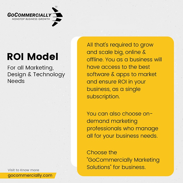 Get all that's required to grow and scale big, online and offline! Visit: https://gocommercially.com/   . . . #growth #ROI #marketingplatforms #marketingsolutions #business #businessgrowth #platform #businesssuccess #businessmind #businessmen #businessplan #businessstrategypic.twitter.com/nkGoTDKnpm