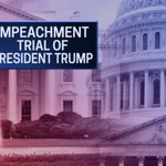 Image for the Tweet beginning: Senate Impeachment Trial of President