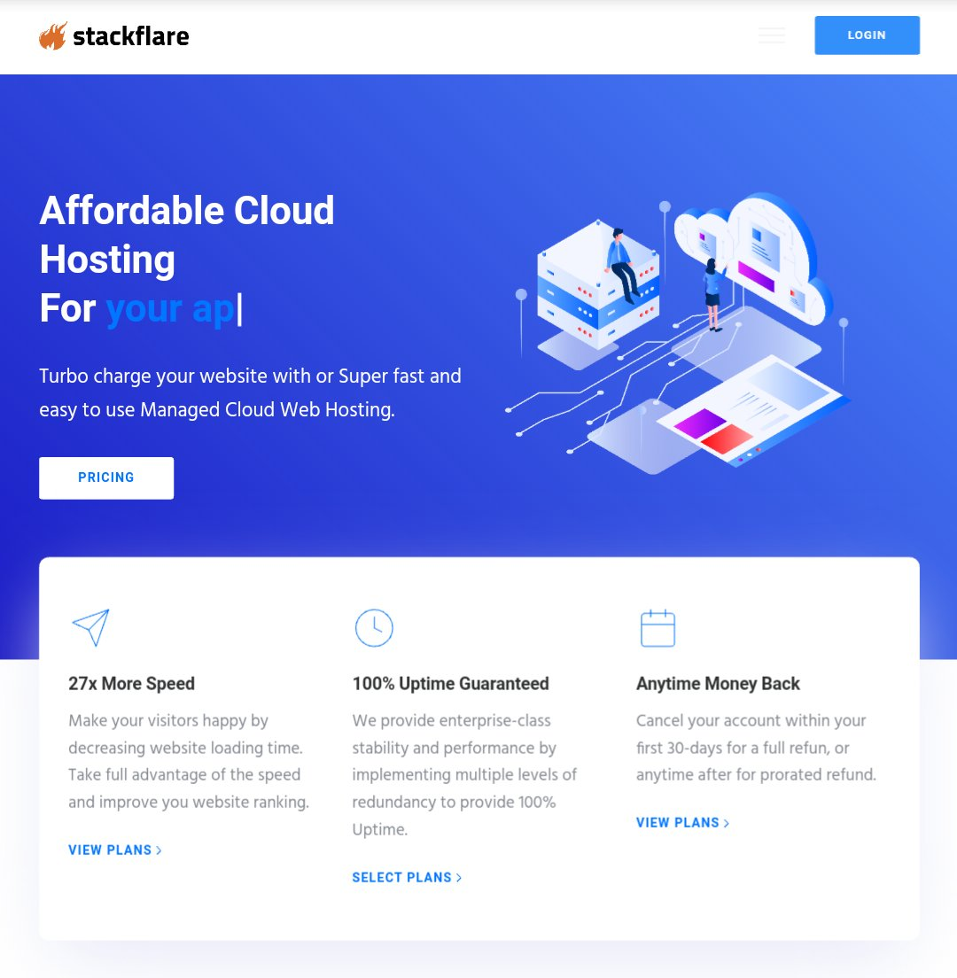 """#stackflare Get 50% off NOW ! Use code """"IND26""""  Affordable Cloud HOSTing  1 GB RAM 1v CPU 10 SSD FREE SSL FREE DDOS Protection Stack pannel  24x7 smart support Datacenter in Mumbai  Best HOSTing provider in INDIA. We are DIGITAL INDIA. <br>http://pic.twitter.com/4CnFyKzyEf"""
