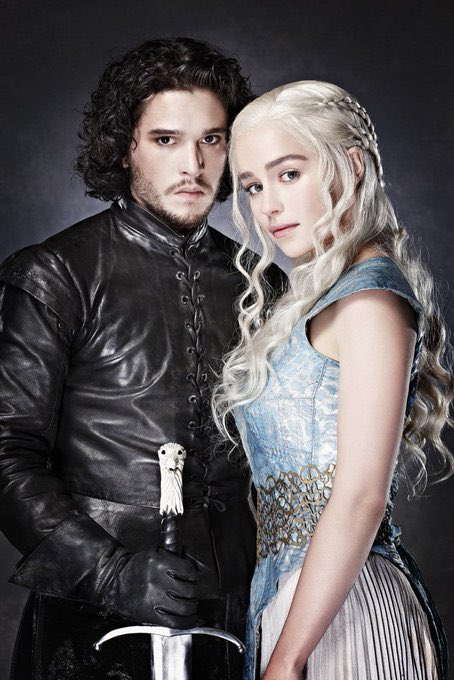 the superior game of thrones photoshoot with emilia clarke & kit harington <br>http://pic.twitter.com/YvNtulotVg