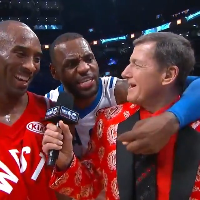 Idgaf this was the best all star game I've witness in my life and forever will cherish it ❤️