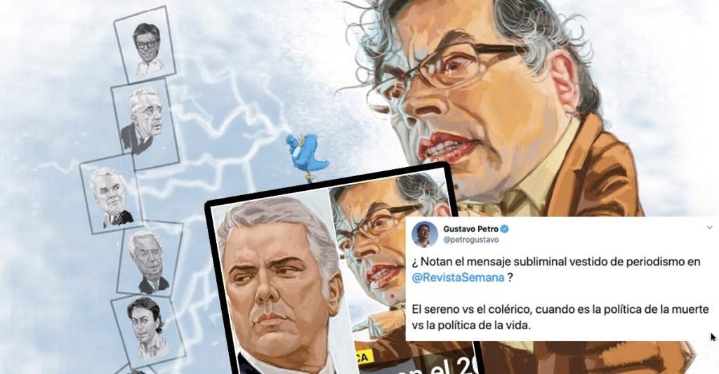 Petro dice que Semana crea mensajes subliminales para hacer ver a Duque sereno y a élcolerico https://colombianoindignado.com/petro-dice-que-semana-crea-mensajes-subliminales-para-hacer-ver-a-duque-sereno-y-a-el-colerico/…