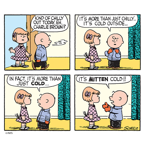 It's mitten cold outside!