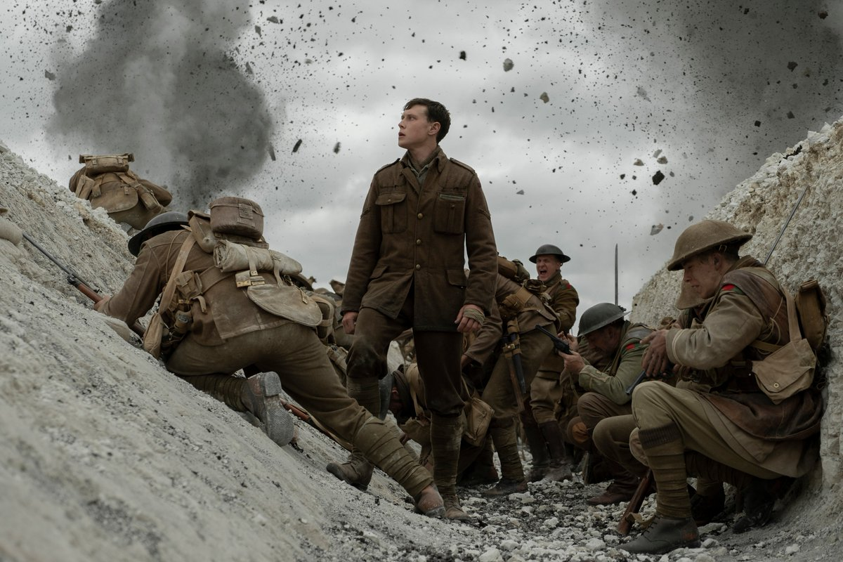 A bit late at @cinesocialuk seeing @1917FilmUK, but it's as thrilling as we were lead to believe.  A #movie to see: http://bit.ly/Film1917    #cinema #movie #film #GeorgeMacKay #SamMendes #DeanCharlesChapman #DanielMays #ColinFirth #BenedictCumberbatch #AndrewScott #WWIpic.twitter.com/6g7nlJY5ih