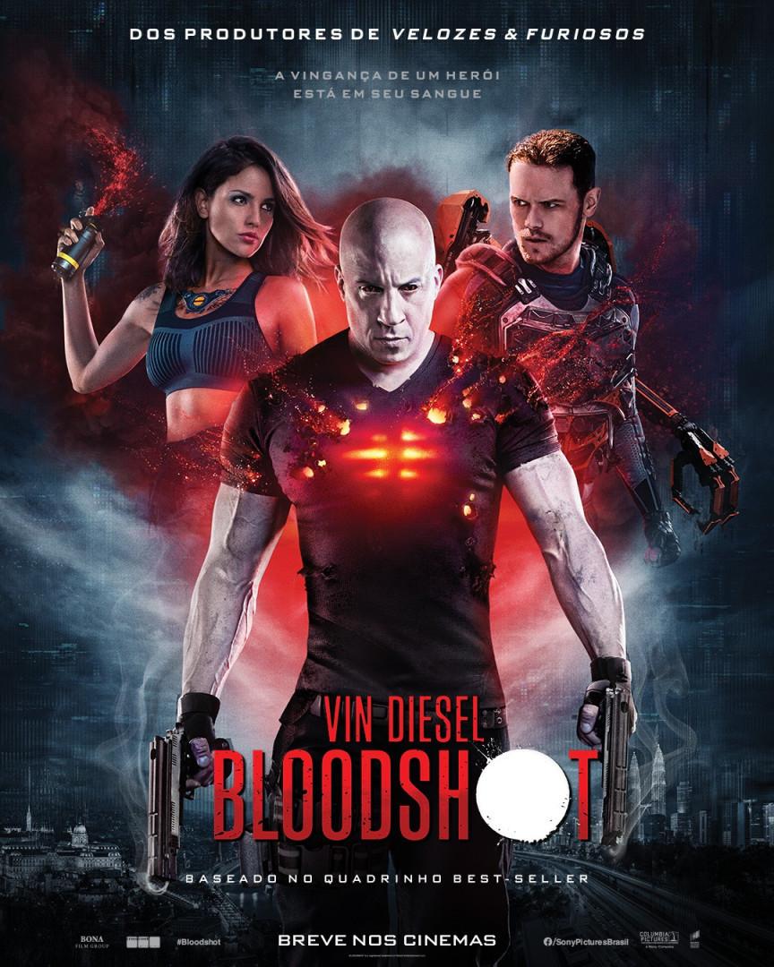 A vingança de um herói está em seu sangue! Confira o novo pôster de #Bloodshot, que estreia em 12 de março no Cinemaxx. 💥