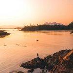 """Image for the Tweet beginning: """"Fishing, kayaking, pine trees, mountains,"""