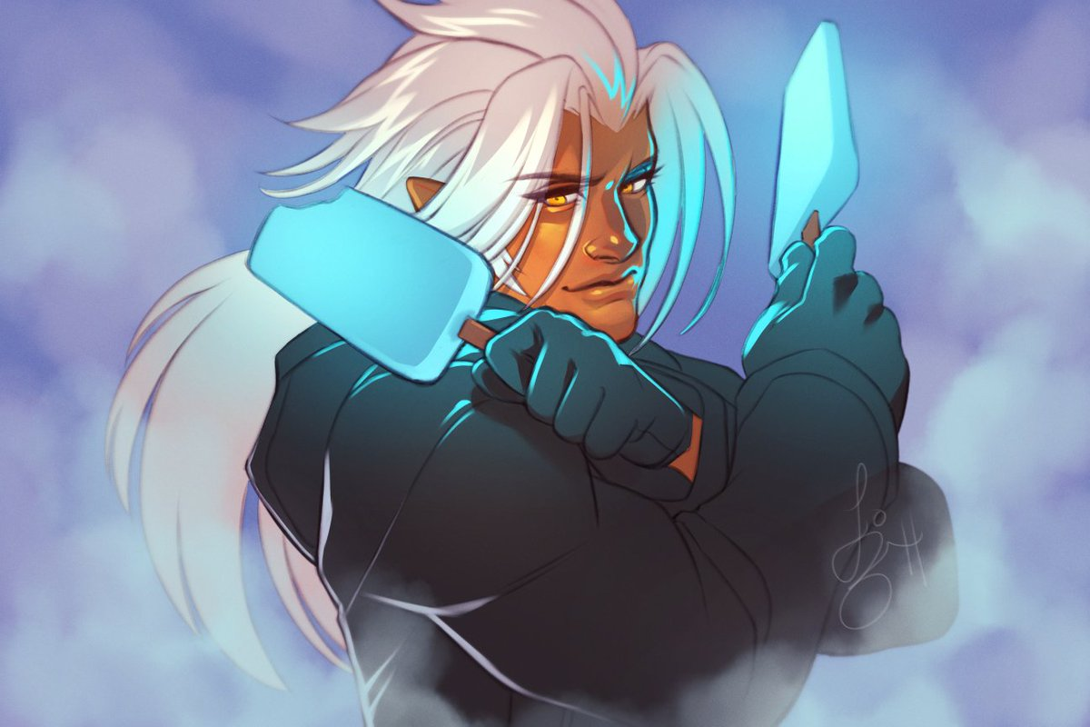 Everyone has been creating data greetings with Xemnas dual wielding sea salt ice cream and I think it's really cute. <br>http://pic.twitter.com/cyGdytJujJ