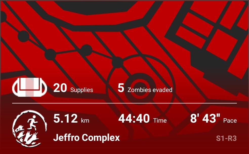 Finally finished this one. #zombiesrun pic.twitter.com/YAUEHUXTIh