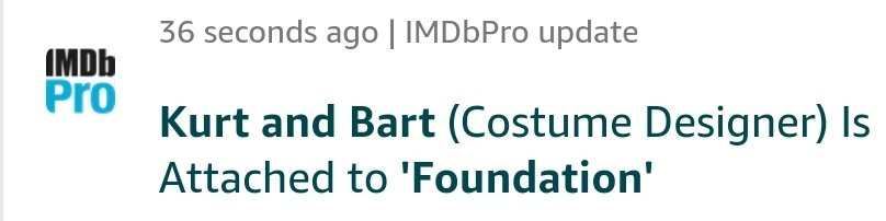 Geeks Worldwide On Twitter Costume Designers Kurt And Bart Are Onboard The Apple Tv Series Adaptation Of Foundation Recent Credits Include The Hungers Games Mockingjay Part 1 And 2 Ghost In The