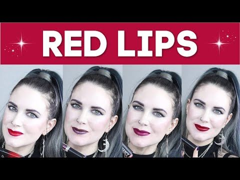 I love a good red lipstick! There's a red for everyone. Here are my picks for the best red lipsticks for fair skin! https://buff.ly/2KK3W83  #veganmakeup #crueltyfreemakeup pic.twitter.com/54WOLSjvJ1