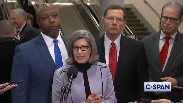 Sen. Joni Ernst Says White House Impeachment Counsel 'Entirely Shredded The Case' Against Trump