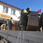 Image for the Tweet beginning: Elazığ merkezli deprem sonrası Malatya'da