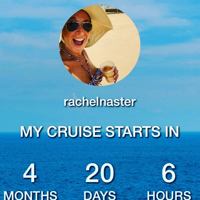 4 months and 20 days I'm so excited for this #belowdeck cruise I love @capthlr & @Kate_Chastain can't wait to show them the cruise ropes 🛳⚓️ #getondeck #setsaill #yachtie #cruisecountdown #bravosails #celebritycruises #cruiseaddict #familyvacation #tropicaltalker