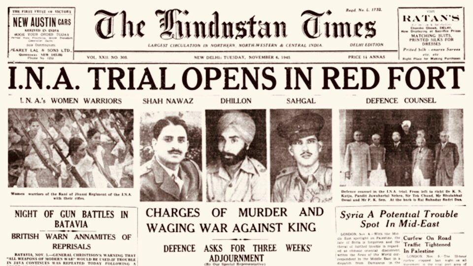#RarePic  WE, THE PEOPLE OF INDIA ...  Shah Nawaz  Dhillon  Sehgal!  #RepublicDay #RepublicDay2020 #RepublicDayIndia