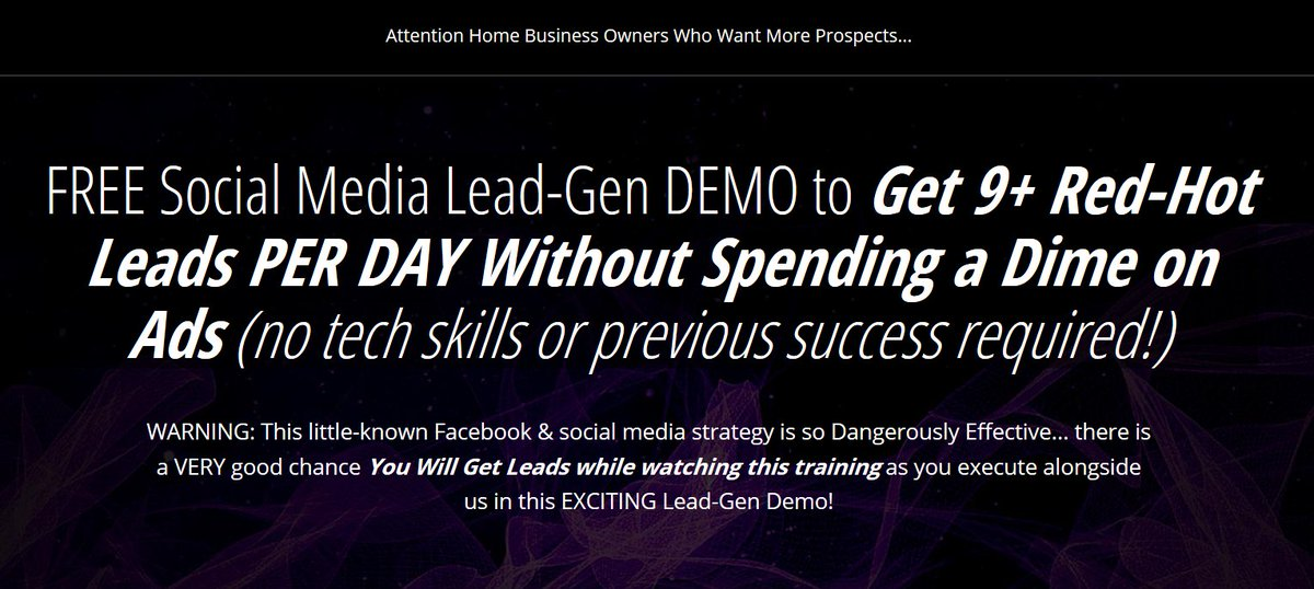FREE LEADS FROM FACEBOOK! I just started getting leads for my business for FREE. If you want to learn my secret. #ctfo #scentsy  ==>  <==
