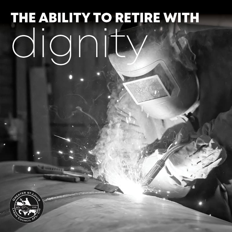 Unions give you the ability to retire with dignity. Join a union today! #1u #UnionStrong <br>http://pic.twitter.com/DNwBLZ70Ee
