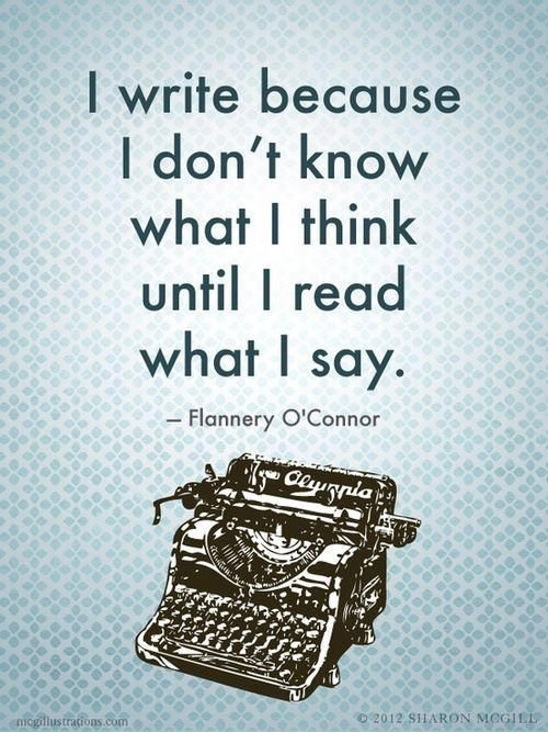 This has been one of the biggest lessons that writing has taught me. Are we teaching our students this too? #TeachWrite