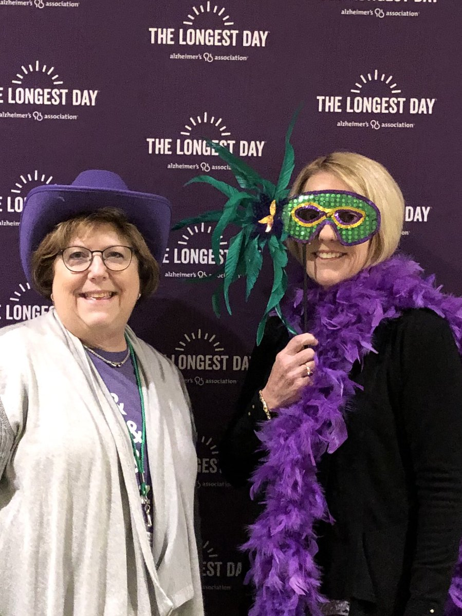 Happy to be at #ALZSummit with the @AlzMaryland team including #ProudVolunteer Karen Smith.